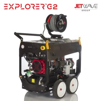 Jetwave Petrol Powered Hot Water Pressure Cleaners